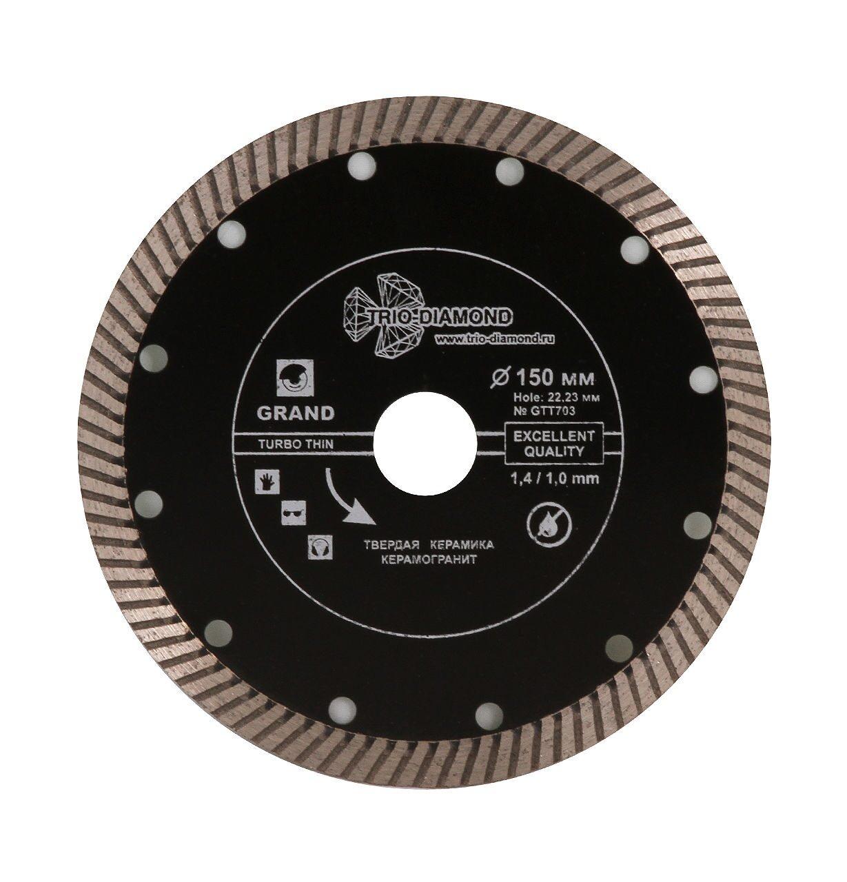 купить диск алмазный по бетону 150 для штробореза